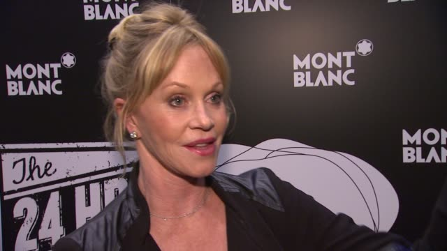 INTERVIEW Melanie Griffith on what it was like participating in 24 Hour Plays the challenges of a project like this working opposite Jason Biggs and...