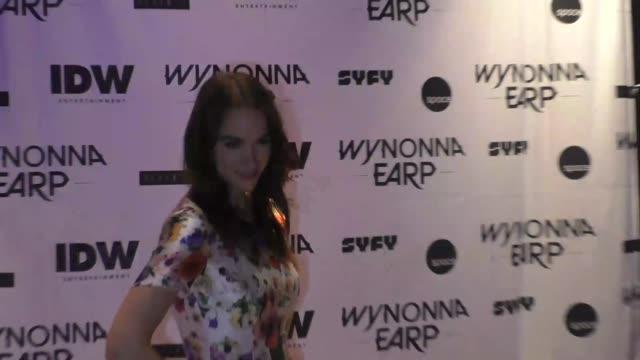 Melanie Scrofano at ComicCon International 2017 'Wynonna Earp' Media Mixer With Cast Fan Appreciation Party on July 20 2017 in San Diego California