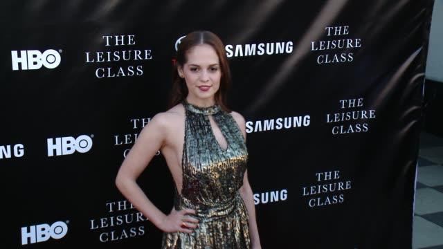 Melanie Zanetti at Matt Damon Ben Affleck Adaptive Studios And HBO Present The Project Greenlight Season 4 Winning Film The Leisure Class at The...