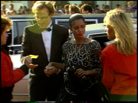 melba moore at the 1987 academy awards at dorothy chandler pavilion in los angeles california on march 30 1987 - dorothy chandler pavilion stock videos and b-roll footage