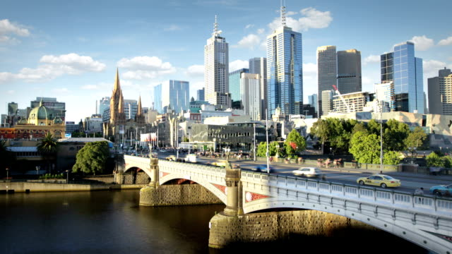 melbourne, australia - tram stock videos & royalty-free footage