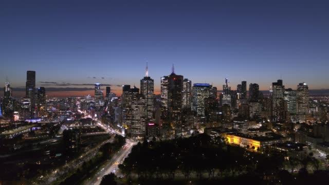 melbourne city, victoria, australia - urban sprawl stock videos & royalty-free footage