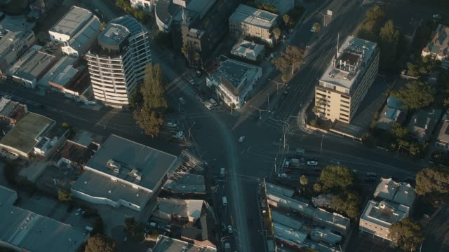 Melbourne intersection