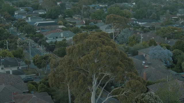 melbourne suburb in the sunrise - viewpoint stock videos & royalty-free footage