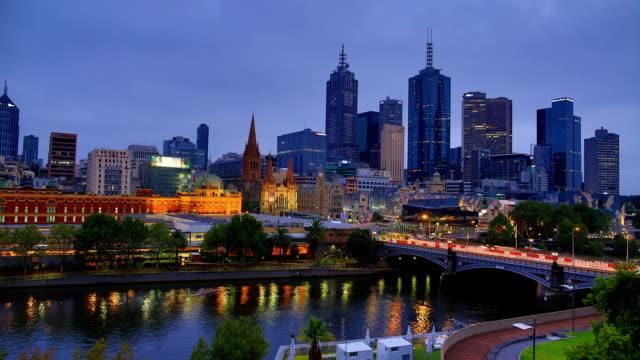 Melbourne: Sunrise time lapse