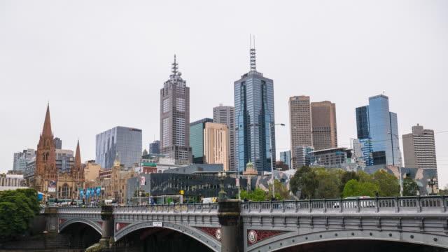 Melbourne  time lapse