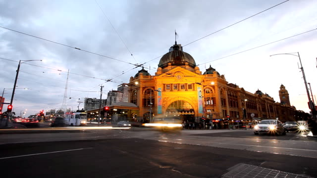 melbourne - pedestrian stock videos & royalty-free footage