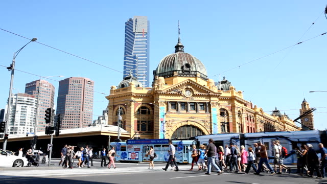 melbourne - tram stock videos & royalty-free footage