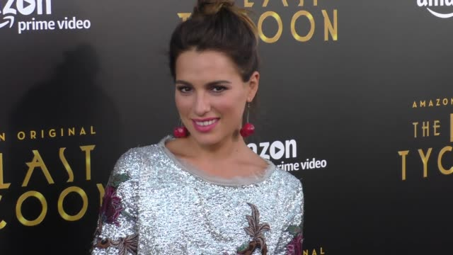 Melia Kreiling at the Amazon Original Series 'The Last Tycoon' Premiere at the Harmony Gold Preview House and Theater on July 27 2017 in Hollywood...