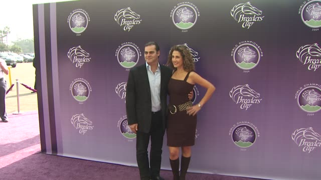 melina kanakaredes at the breeders' cup world thoroughbred championships at arcadia ca - championships stock videos & royalty-free footage
