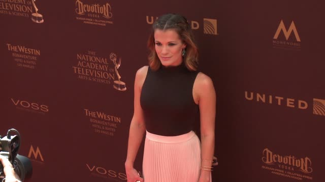 Melissa Claire Egan at 43rd Annual Daytime Emmy Awards at Westin Bonaventure Hotel on May 01 2016 in Los Angeles California