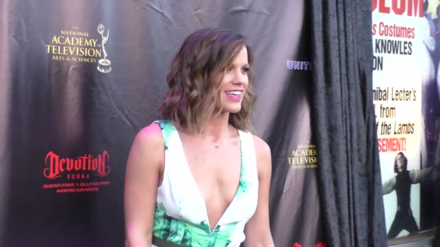Melissa Claire Egan at the 2016 Daytime Emmy Awards Nominees Reception at The Hollywood Museum in Hollywood Celebrity Sightings on April 27 2016 in...