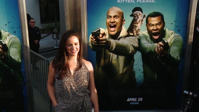melissa fumero at keanu los angeles premiere at arclight cinemas cinerama dome on april 27 2016 in hollywood california - cinerama dome hollywood stock videos & royalty-free footage