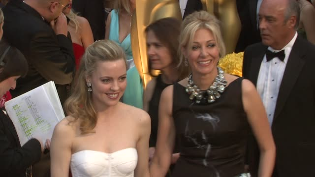 melissa george and guest at the 81st academy awards arrivals part 6 at los angeles ca - melissa george stock videos & royalty-free footage