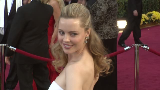 melissa george at the 81st academy awards arrivals part 2 at los angeles ca - melissa george stock videos & royalty-free footage
