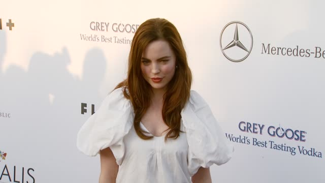 melissa george at the chrysalis butterfly ball at a private residence in los angeles california on june 2 2007 - chrysalis butterfly ball video stock e b–roll