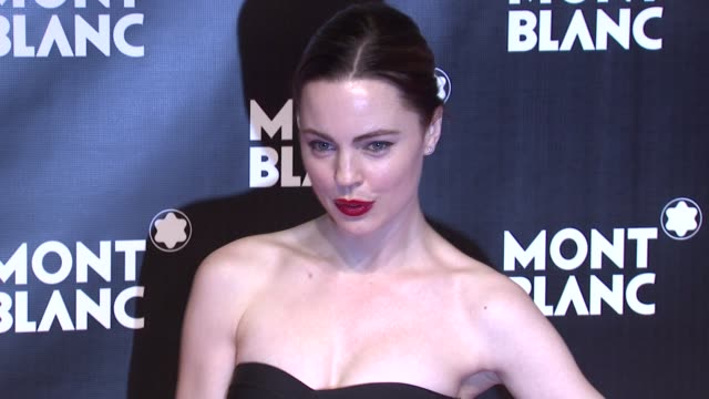 melissa george at the global launch of the montblanc john lennon edition at new york ny - melissa george stock videos & royalty-free footage