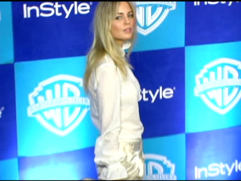 melissa george at the instyle/warner brothers golden globes party at the beverly hilton in beverly hills california on january 16 2006 - melissa george stock videos & royalty-free footage