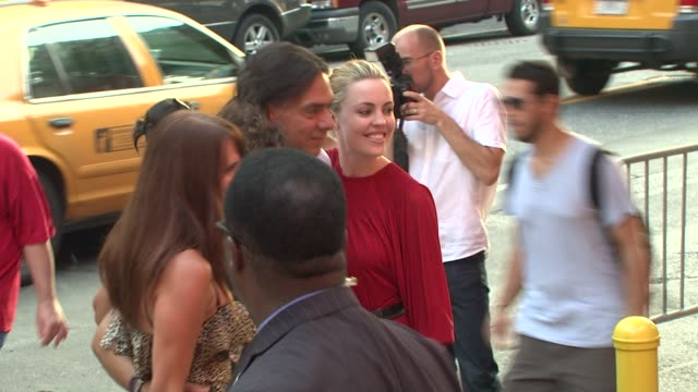 melissa george at the the cinema society screening of 'inglourious basterds' at new york ny - melissa george stock videos & royalty-free footage