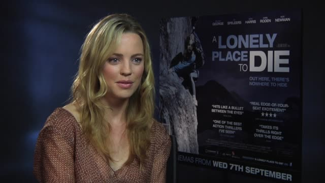melissa george on julian gilbey at the a lonely place to die at london england - melissa george stock videos & royalty-free footage