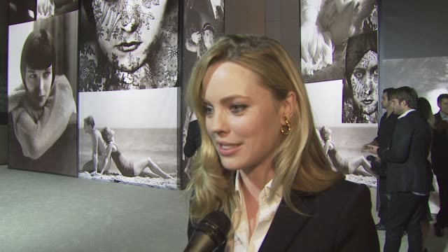 melissa george on the event being in los angeles on vanity fair portraits at the vanity fair burberry host 'vanity fair portraits photographs 19132... - melissa george stock videos & royalty-free footage