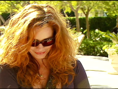 melissa gilbert and son michael at the dine with your dog day at the hyatt regency century plaza in century city, california on october 19, 2006. - melissa gilbert stock videos & royalty-free footage