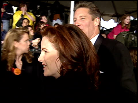melissa gilbert at the 1995 people's choice awards at universal studios in universal city, california on march 5, 1995. - melissa gilbert stock videos & royalty-free footage