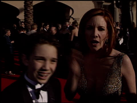 melissa gilbert at the 2003 screen actors guild sag awards at the shrine auditorium in los angeles, california on march 9, 2003. - melissa gilbert stock videos & royalty-free footage