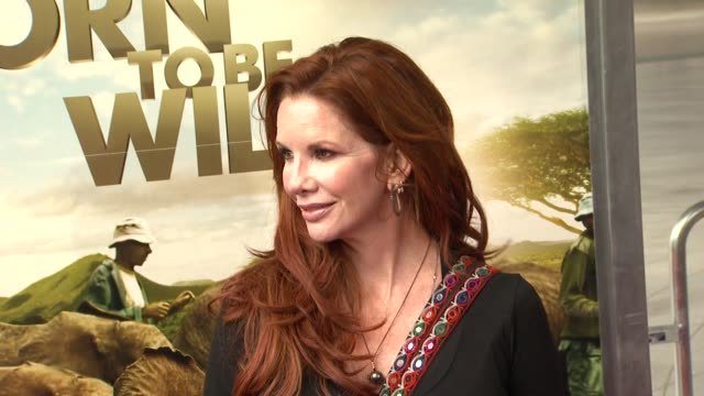 melissa gilbert at the 'born to be wild 3d' premiere at los angeles ca. - melissa gilbert stock videos & royalty-free footage