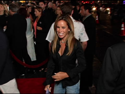 melissa gilbert at the opening night of 'the ten commandments' at the kodak theatre in hollywood, california on september 27, 2004. - melissa gilbert stock videos & royalty-free footage