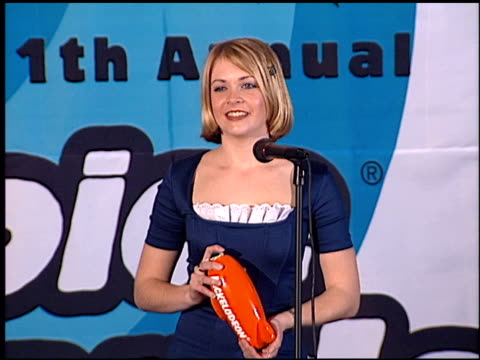 Melissa Joan Hart at the 1998 Nickelodeon Kids' Choice Awards at UCLA in Westwood California on April 4 1998