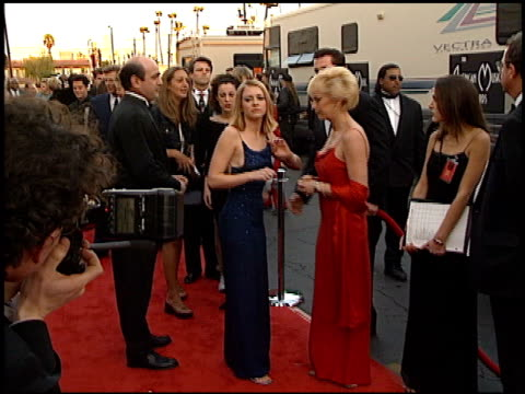 Melissa Joan Hart at the 1999 American Music Awards entrances at the Shrine Auditorium in Los Angeles California on January 11 1999