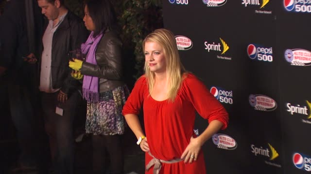 Melissa Joan Hart at the Auto Club Speedway Celebrates The Pepsi 500 at Hollywood CA