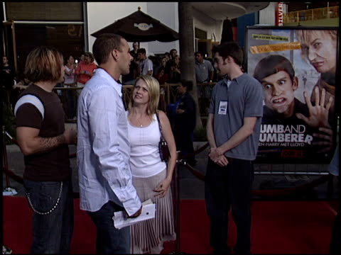 Melissa Joan Hart at the 'Dumb and Dumberer' Premiere at Universal in Universal City California on June 11 2003