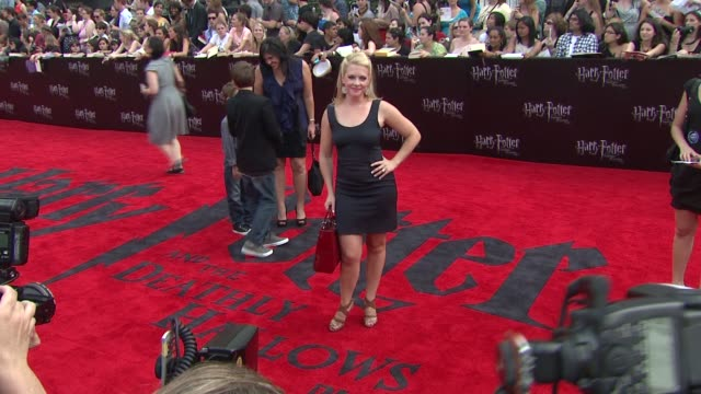 Melissa Joan Hart at the 'Harry Potter And The Deathly Hallows Part 2' New York Premiere Arrivals at New York NY