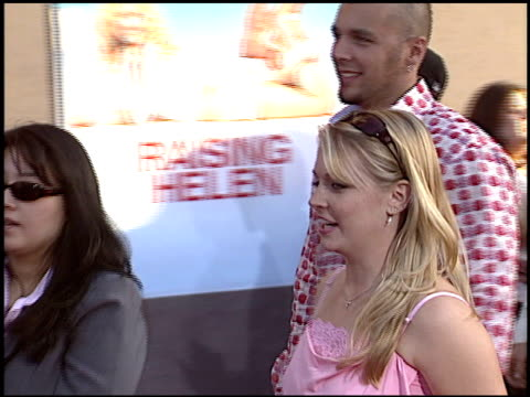 Melissa Joan Hart at the 'Raising Helen' Premiere at the El Capitan Theatre in Hollywood California on May 26 2004