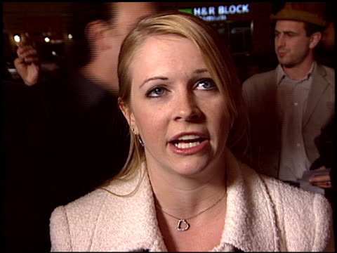 Melissa Joan Hart at the 'Win A Date With Tad Hamilton' Premiere on January 9 2004