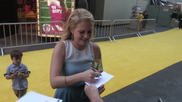 Melissa Joan Hart Braydon Hart greet fans at the Despicable Me 2 Premiere in Universal City 06/22/13