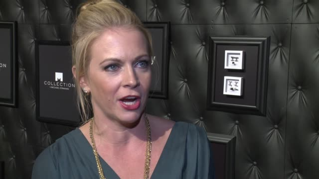 INTERVIEW Melissa Joan Hart discusses how she knows Michael Strahan at JCPenney And Michael Strahan Launch Collection By Michael Strahan at ArtBeam...