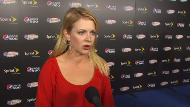 Melissa Joan Hart on being a racing fan how she became interested in racing why it seemed like a fun way to spend the night her Dancing with the...