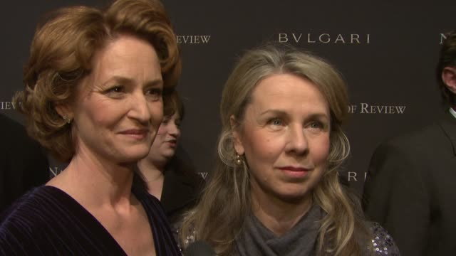 vídeos de stock, filmes e b-roll de melissa leo and courtney hunt thrilled to attend the event being recognized for their work at the the 2008 national board of review of motion... - melissa leo