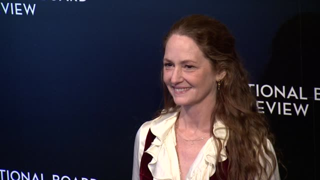 vídeos de stock, filmes e b-roll de melissa leo at national board of review awards gala at cipriani 42nd street on in new york, usa - melissa leo