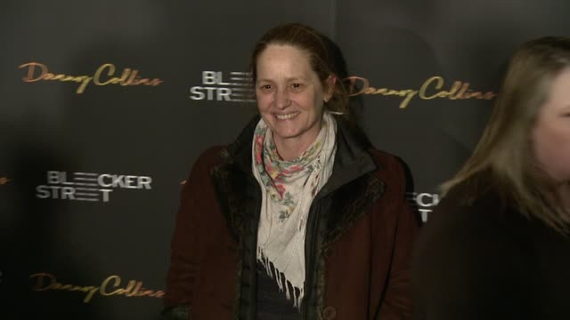 vídeos de stock, filmes e b-roll de melissa leo at new york premiere of bleeker street's danny collins at amc lincoln square theater on march 18 2015 in new york city - melissa leo