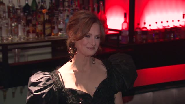 vídeos de stock, filmes e b-roll de melissa leo at the 2010 new york film critics circle awards at new york ny. - melissa leo