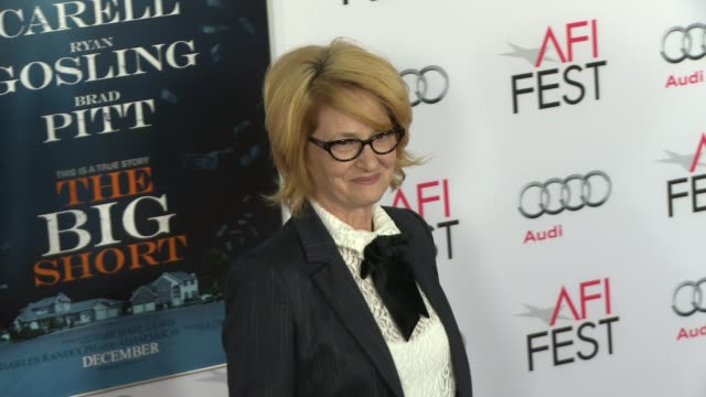 vídeos de stock, filmes e b-roll de melissa leo at the big short world premiere closing night gala screening afi fest 2015 at tcl chinese theatre on november 12 2015 in hollywood... - melissa leo