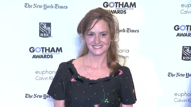 vídeos de stock, filmes e b-roll de melissa leo at the ifp's 21st annual gotham independent film awards red carpet at new york ny - melissa leo