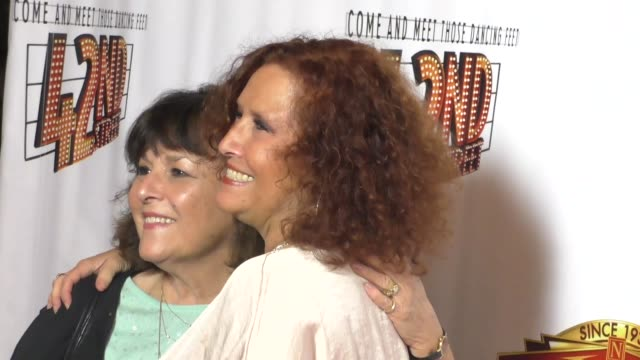 Melissa Manchester at the Opening Night Of 42nd Street at the Pantages Theatre in Hollywood in Celebrity Sightings in Los Angeles