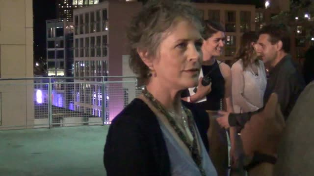 Melissa McBride at ComicCon Celebrity Sightings on July 10 2015 in San Diego California