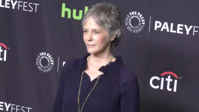 melissa mcbride at paleyfest los angeles 2017 - 'the walking dead' at dolby theatre on march 18, 2017 in hollywood, california. - the dolby theatre stock videos & royalty-free footage