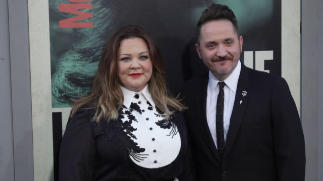 """melissa mccarthy and ben falcone at the world premiere of """"the kitchen"""" at tcl chinese theatre on august 05, 2019 in hollywood, california. - ben falcone stock videos & royalty-free footage"""